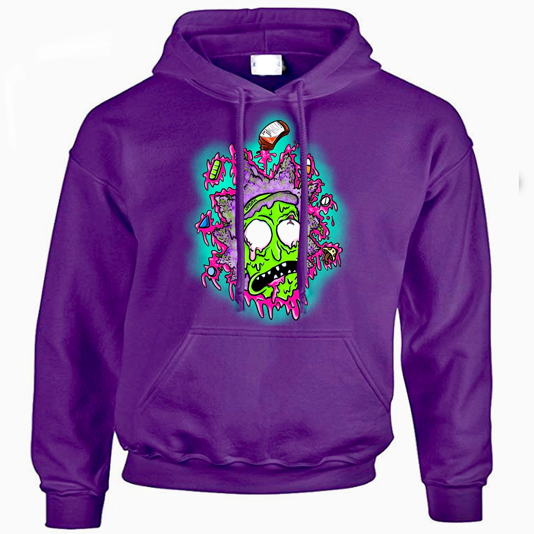 Ricker Urban act purple hoodie