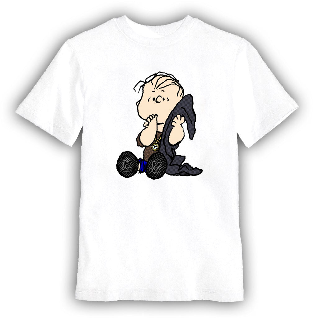 Linus designer youth shirt