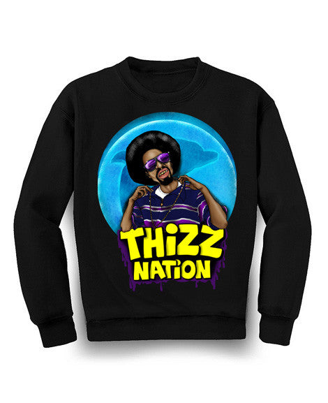 Mac Dre Thizz Nation Crew Neck Sweater