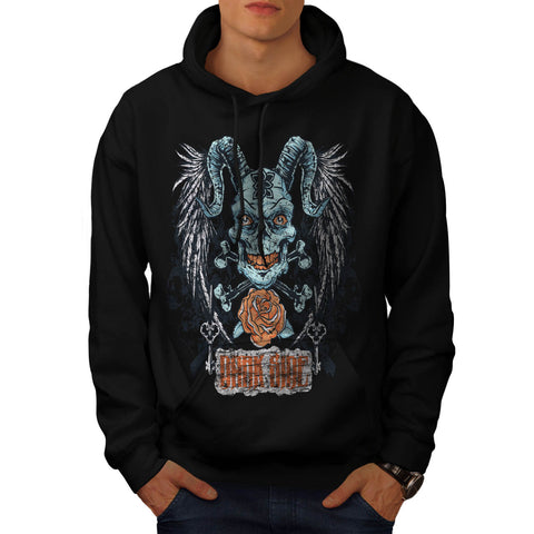 Darkside Animal Face Mens Hoodie