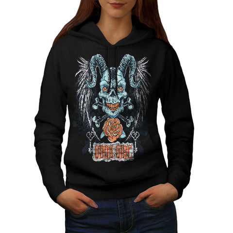 Darkside Animal Face Womens Hoodie