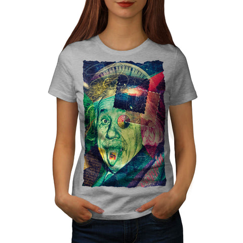 Einstein Philosophy Womens T-Shirt