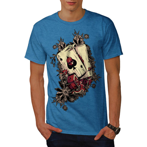 Casino Poker Player Mens T-Shirt