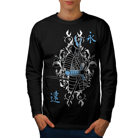 Ancient Warrior War Mens Long Sleeve T-Shirt