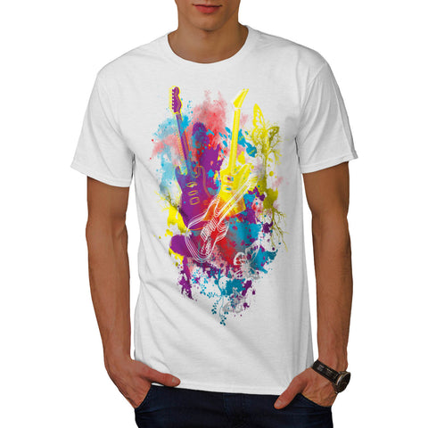 Guitar Dream Player Mens T-Shirt