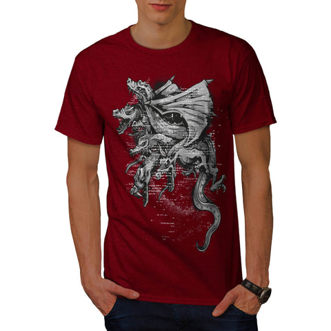 Dragon Gang Mob Crew Mens T-Shirt