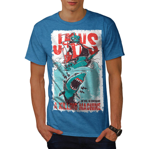 Jaws Killing Machine Mens T-Shirt