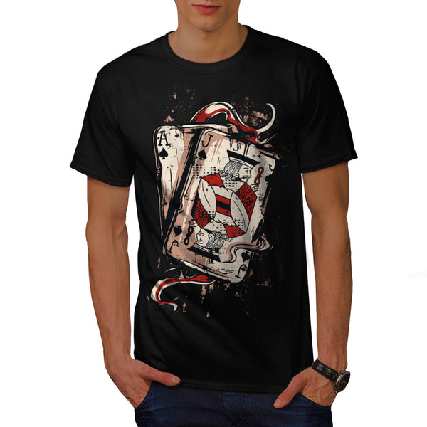 Ace Jack Of Spades Mens T-Shirt