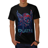 Death Skull Viking Mens T-Shirt