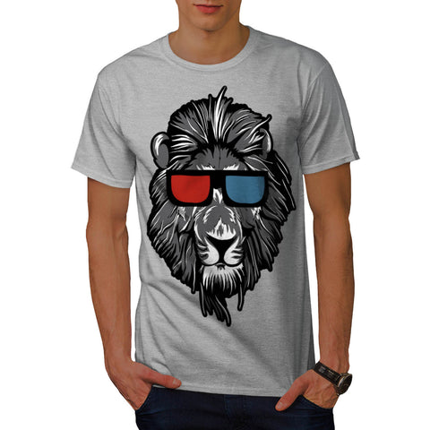 King Of Jungle Lion Mens T-Shirt