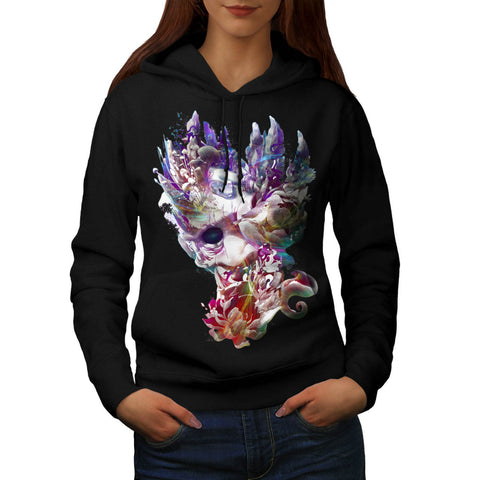 Amazing Colour Print Womens Hoodie