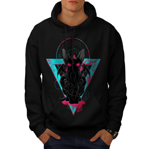 Evil Monster Horror Mens Hoodie