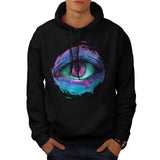 All Seeing Eye Fear Mens Hoodie