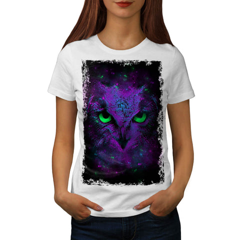 Amazing Wild Owl Fun Womens T-Shirt