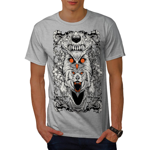 Nature Wild Life Fun Mens T-Shirt