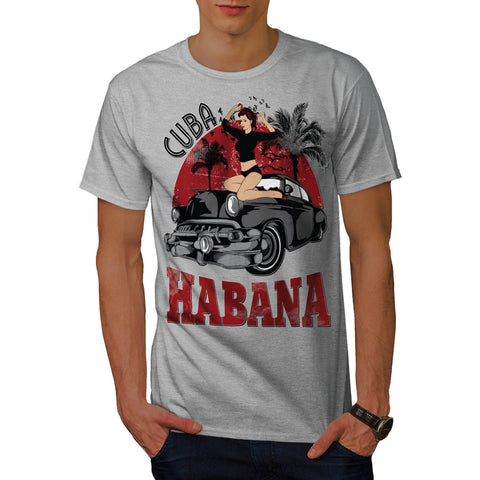 Habana Cuba Capital Mens T-Shirt