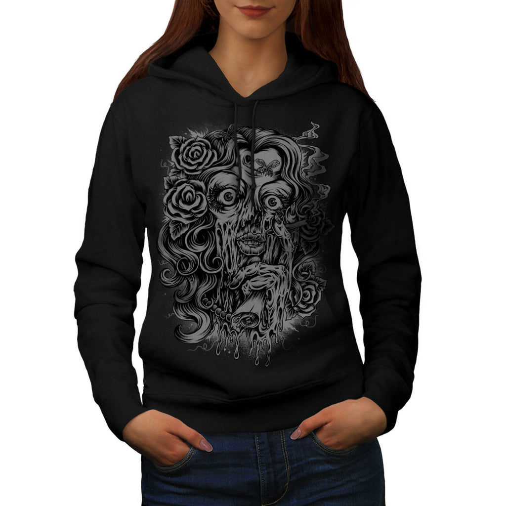 Nightmare Creep Girl Womens Hoodie