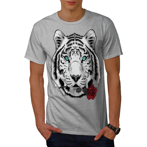 Tiger Face Beauty Mens T-Shirt