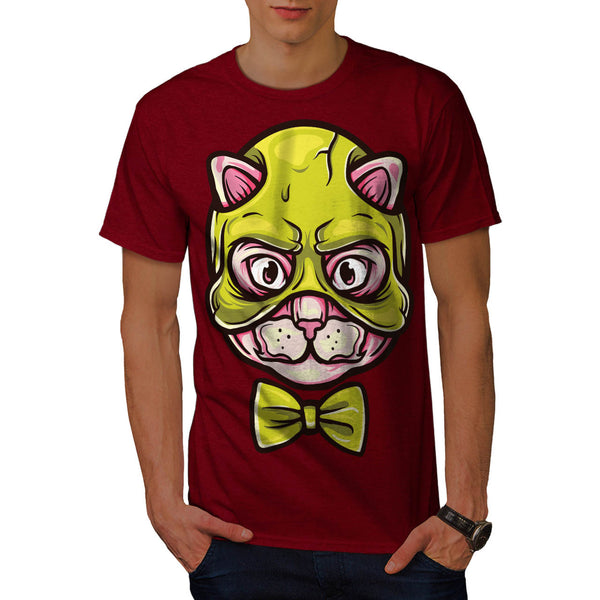 Mystical Cat Face Mens T-Shirt
