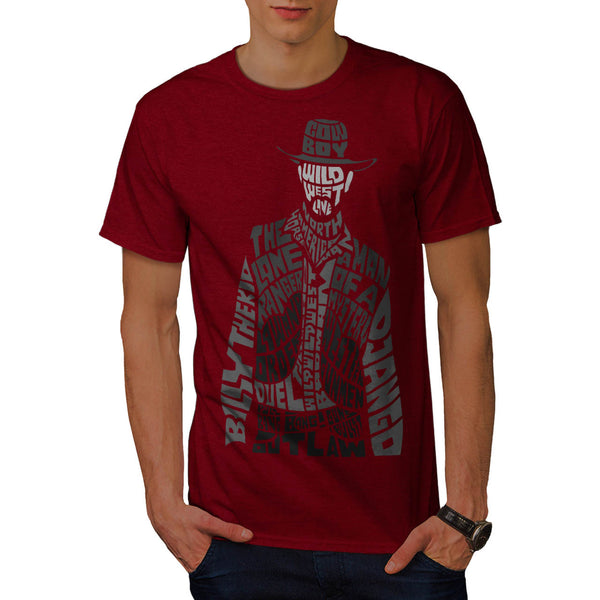 Wild West Cowboy Mens T-Shirt