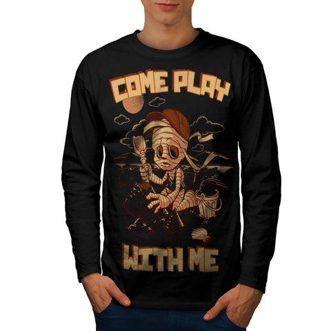 Come Play With Me Mens Long Sleeve T-Shirt