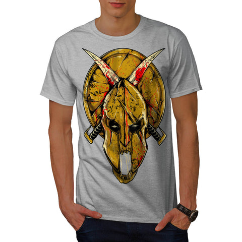 Warrior Symbol Sword Mens T-Shirt