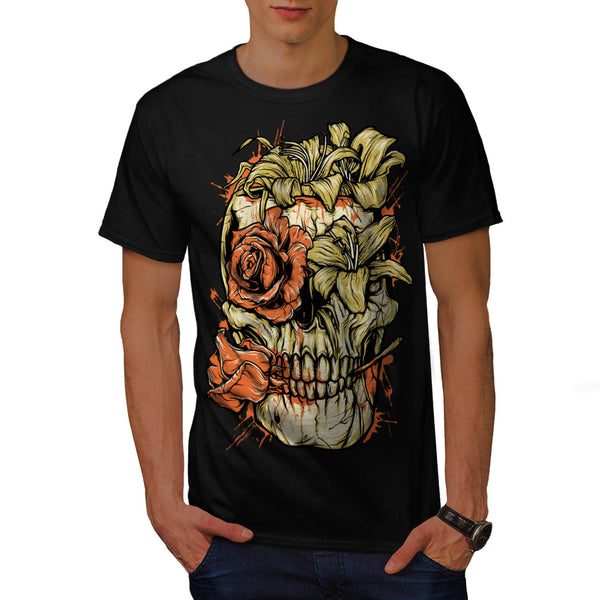 Romantic Skeleton Mens T-Shirt