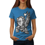 Cool Astronaut Child Womens T-Shirt