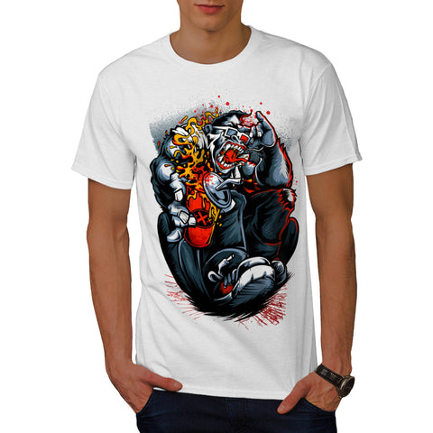 Angry Ape Cinema Mens T-Shirt