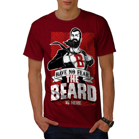 The Beard Is Here Mens T-Shirt
