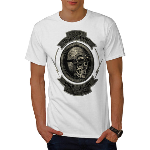 Golden Age Biker Mens T-Shirt