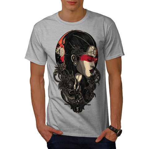 Snake Lady Vixen Mens T-Shirt