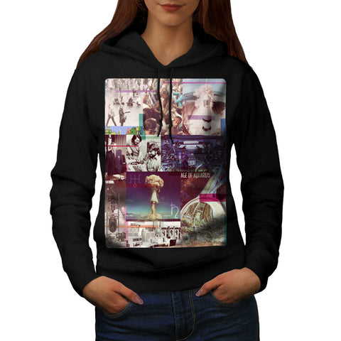 Age Of Aquarius Sign Womens Hoodie