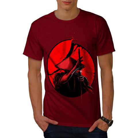 Japanese Warrior Mens T-Shirt