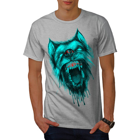 Werewolf Wolf Fear Mens T-Shirt