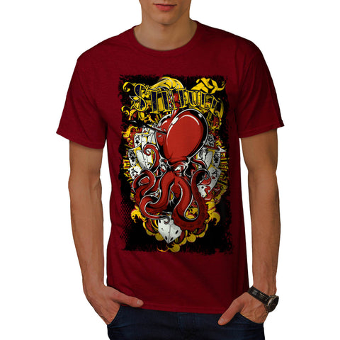 Gambling Sinful Habit Mens T-Shirt