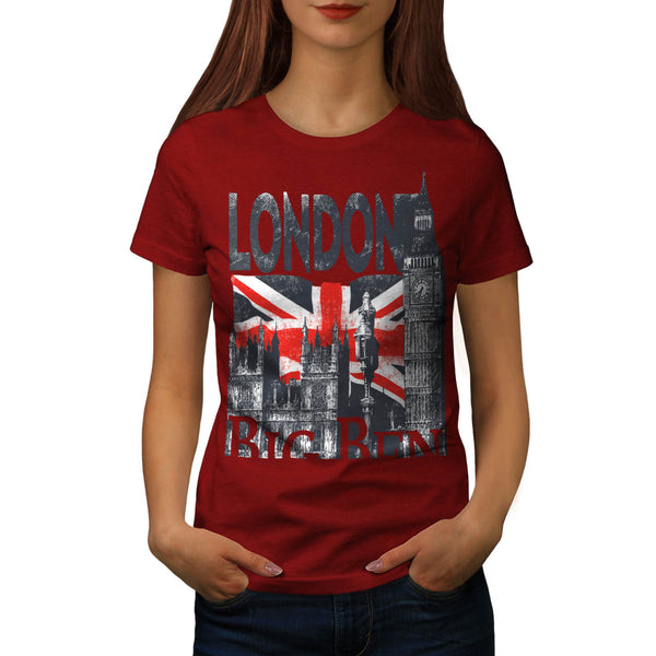 London UK GB Britain Womens T-Shirt