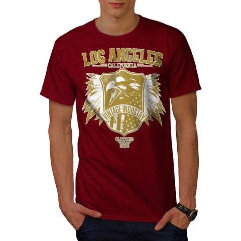 LA California Apparel Mens T-Shirt