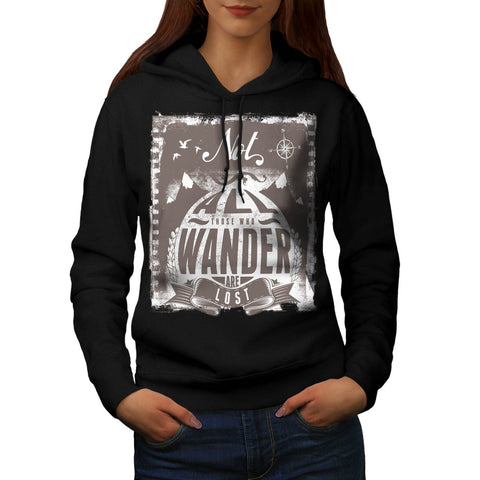 All Wonder Are Lost Womens Hoodie