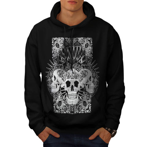 Entity Monster Skull Mens Hoodie
