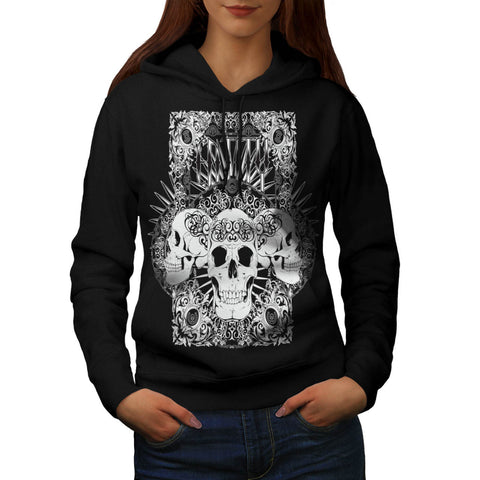 Entity Monster Skull Womens Hoodie
