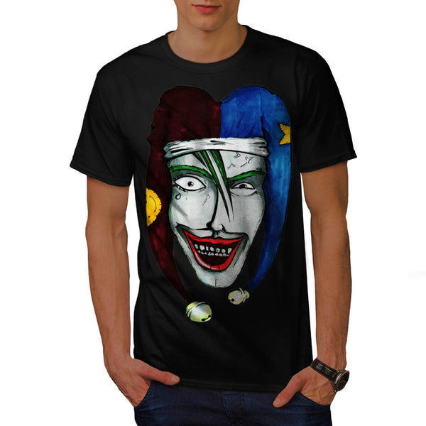 Smiling Scary Clown Mens T-Shirt