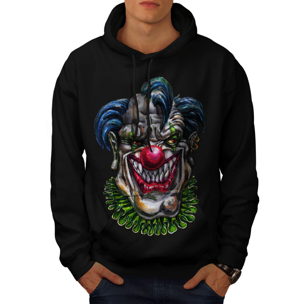 Evil Monster Clown Mens Hoodie