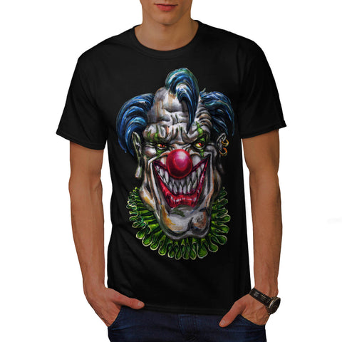 Evil Monster Clown Mens T-Shirt