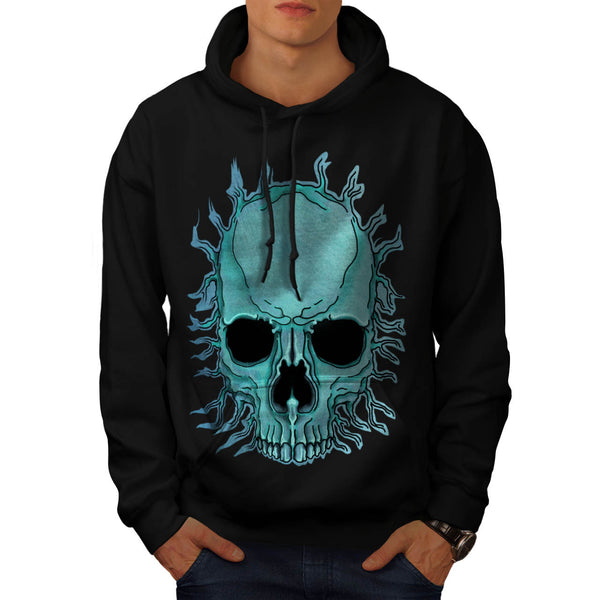 Bright Skull Skeleton Mens Hoodie