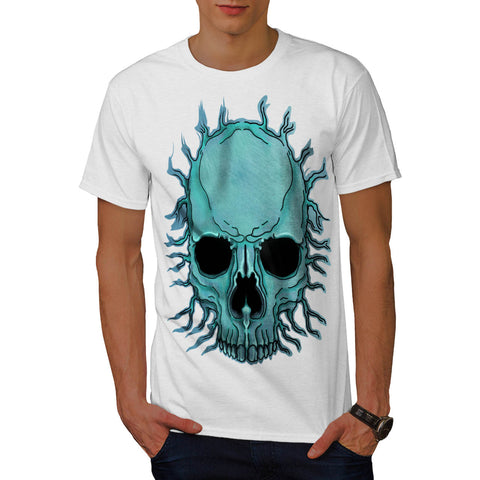 Bright Skull Skeleton Mens T-Shirt