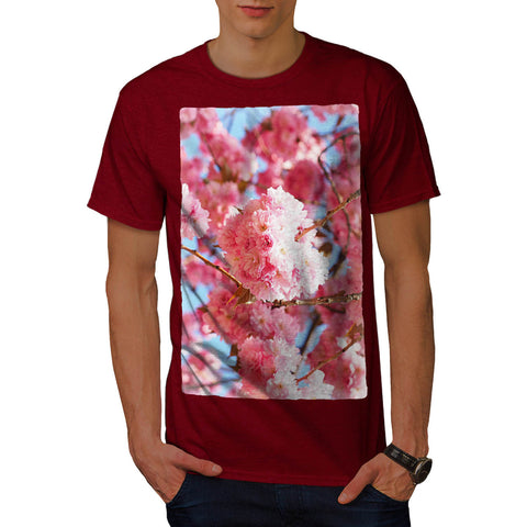 Purple Blossom Tree Mens T-Shirt