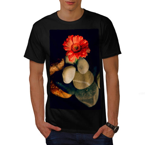 Red Flower Beauty Mens T-Shirt