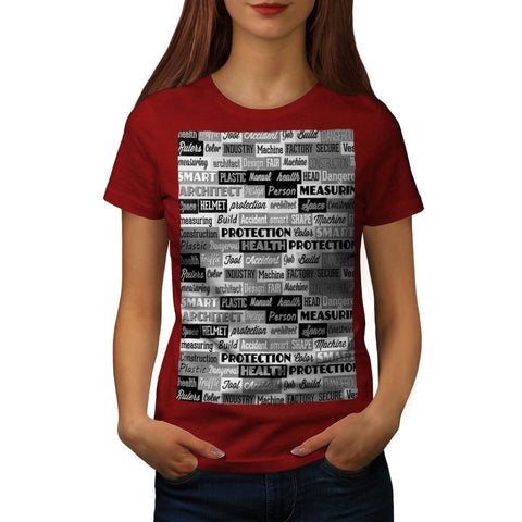 Retro Cool Slogan Womens T-Shirt