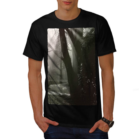 Old Grey Forest Mens T-Shirt